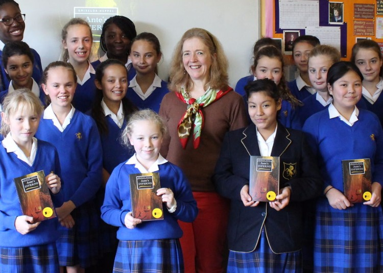 Award-winning author visits Years 7 and 8
