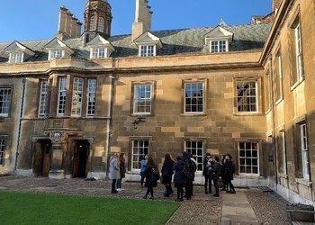 Our visit to Gonville & Caius College, Cambridge University