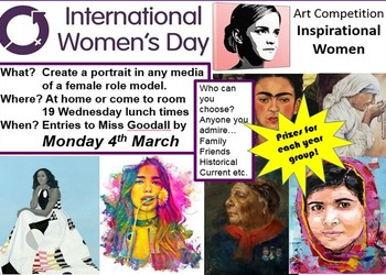 International Women's Day Art Competition