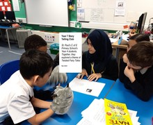 2019 Y7 Storytelling Trip to St. Pauls Primary K.M and S.R