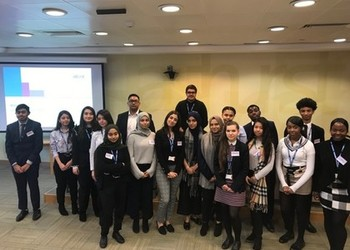 Year 12 at Ashurst Law Firm in East London Feb 2019