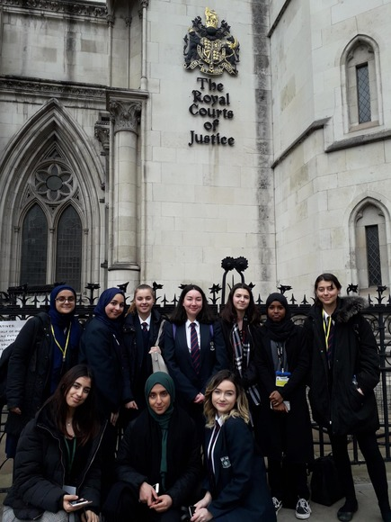 Royal courts of justice March 2019