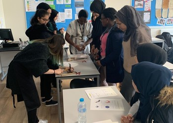 The Academy of Jewellery deliver a practical workshop to Year 12 students