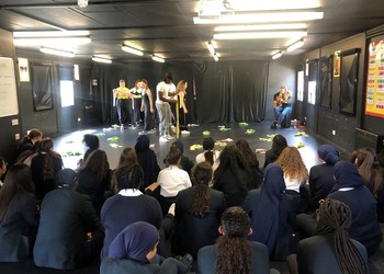 Chickenshed Workshop Y9 & 10