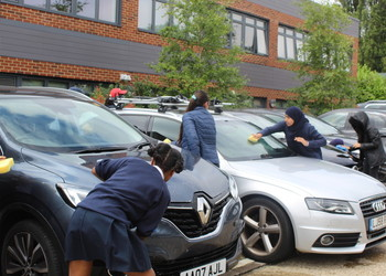 Charity Car Wash By 8T