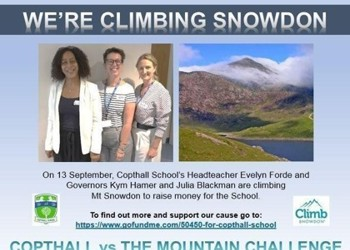 Copthall vs the Mountain Challenge