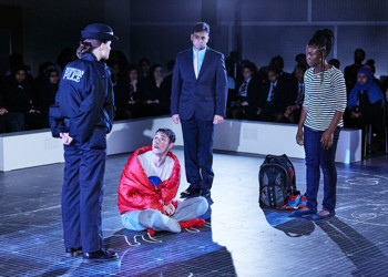 National Theatre School's production of The Curious Incident of the Dog in The Night-Time