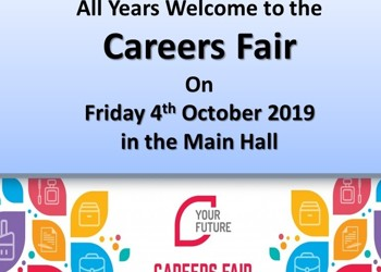 Careers Fair Friday 4th October