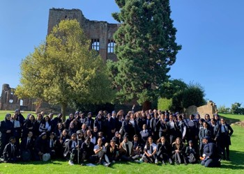 Year 11 Kenilworth Castle Trip