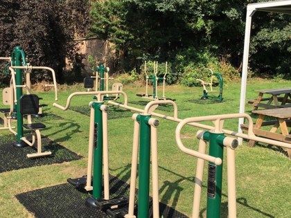 Copthall's State of the Art 'Outdoor Gym'
