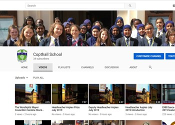Copthall School Whole School Photo 2019 ~ Video