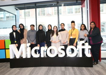 Sixth Form Students Visit the Microsoft Reactor Office in London