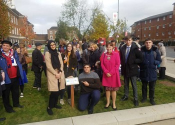 Year 12 students were part of the Interfaith Bulb event