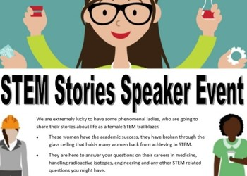Stem Stories Speaker Event on 6th December 2019