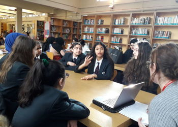 'Alternarratives' student focus group at Copthall