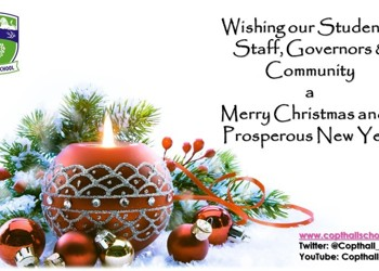 Seasonal Greeting from Copthall School