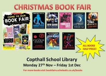 HALF PRICE - CHRISTMAS BOOK FAIR