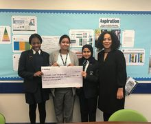 Grenfell charity cheque