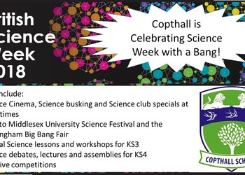 Copthall is celebrating British Science Week!