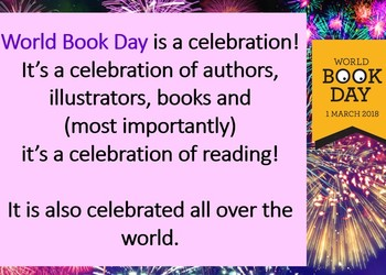 Copthall School celebrates World Book Day 1st March 2018