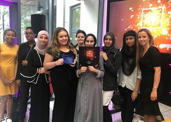 Pump It Team Receives Youth Enterprise Award