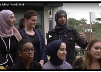 Watch Copthall Students Receive 'Barnet School Award'