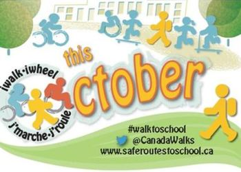 International Walk to School Month