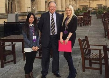 Sixth Formers interview a real Lord