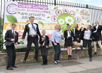 Youth Travel Ambassador Active Travel Week