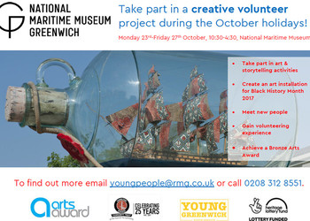 Half term opportunity at the NMM