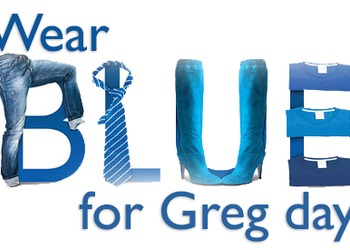 Wear Blue for Greg Day 2018