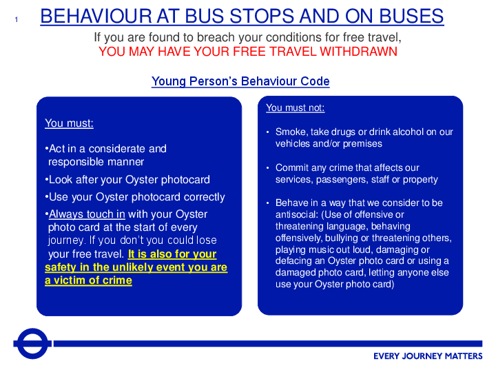 Bus Behaviour Code