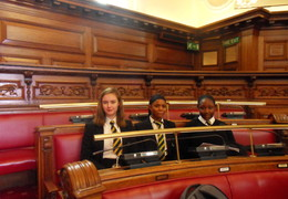 Social Action Group Visit Woolwich Town Hall