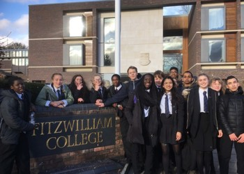 Yr. 10 University of Cambridge Visit