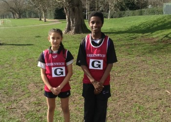 Corelli College represents Greenwich in The London Cross Country Championships