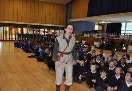 Explorer Louisa Potts returns to Corelli College!