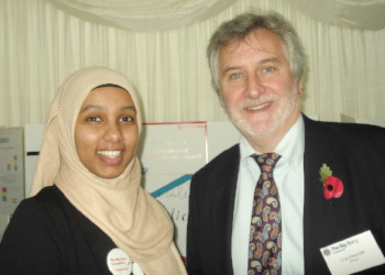 Mana Mukhtar Represents Corelli at The Houses of Parliament