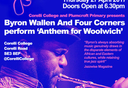 Free professional Jazz concert at Corelli College 27th April