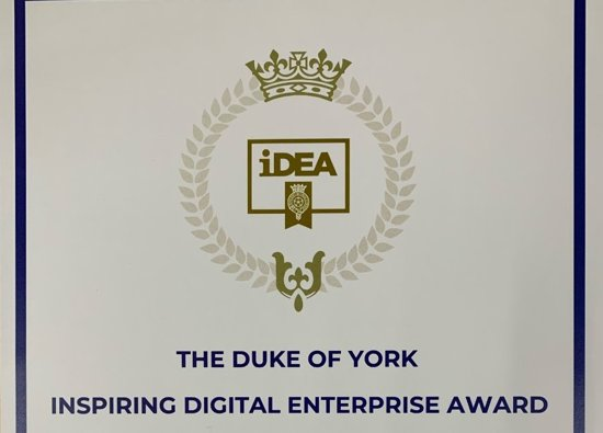 The Duke of York Inspiring Digital Enterprise Award (iDEA)