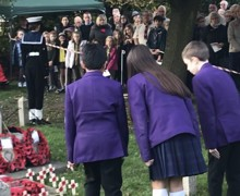 Remembrance 1 4 wreath laying 3