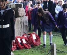 Remembrance 1 6 wreath laying