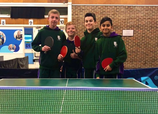 Table Tennis Team Qualify for National Final