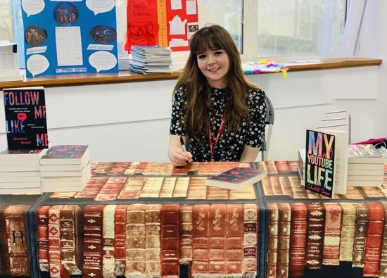 Author and Journalist Charlotte Seager Visits Croxley Danes School