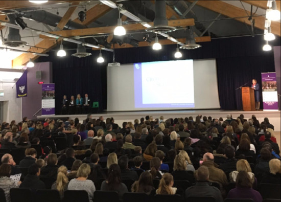 Transport information announced and uniform unveiled at Applicants' Information Evening