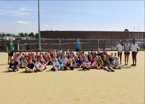 Croxley students take part in Danes Multisports Camp
