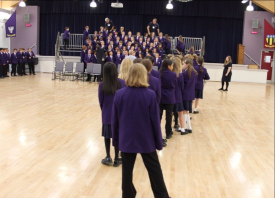 Inaugural whole school photograph takes place