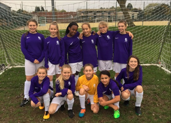 Girls enjoy first sports fixture for the school