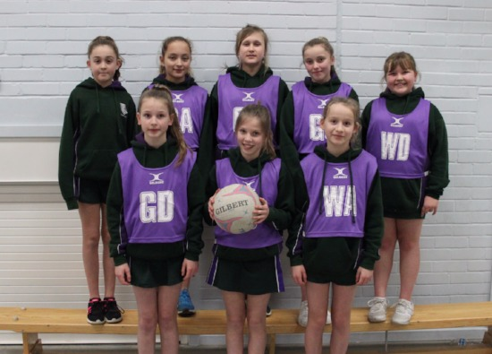 First win for netball team