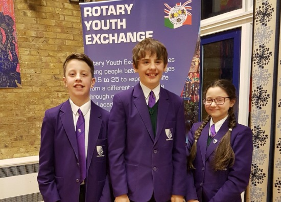 Croxley Danes at District Youth Speaks Competition