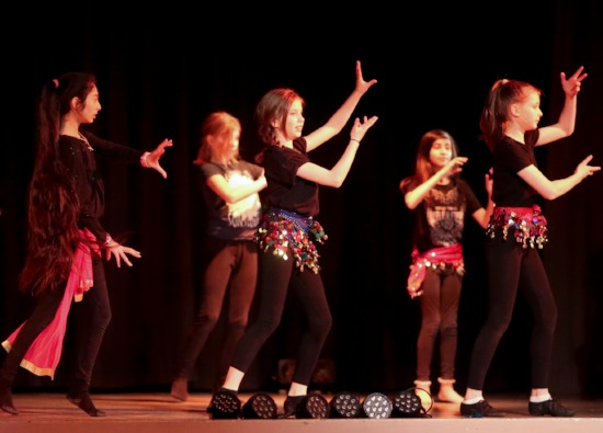 Croxley Danes perform at Gym and Dance Display